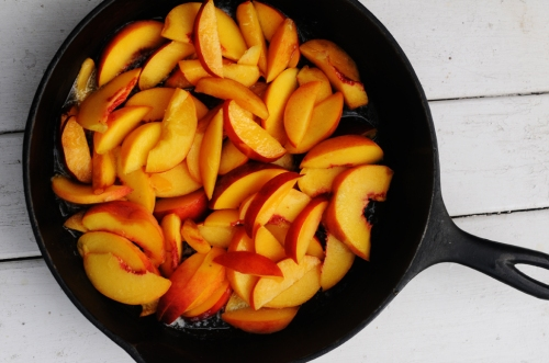 Fresh Fruit Nectarine Cobbler Recipe - Sliced in a Pan: FruitShare