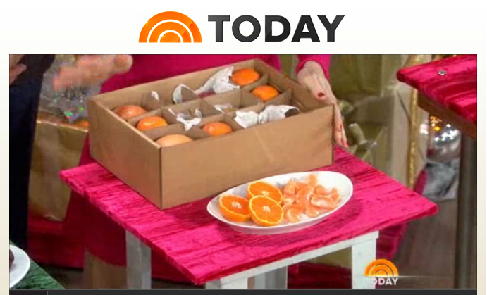 NBC TODAY Show Featuring FruitShare Mail Order Gift