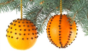 Christmas Gift Ideas for the Office - Oranges Christmas Tree Ornaments