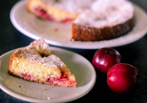 FruitShare's Organic Plum Torte