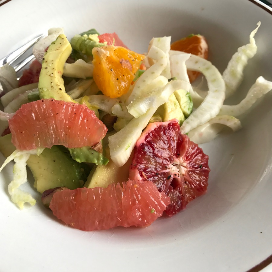 Organic Citrus, Fennel, Avocado Detox Salad